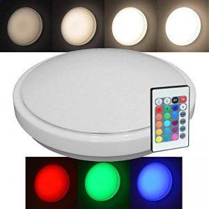 10W 24cm RGBW RGB Lampe Blanc Chaud Lampe Plafonnier LED Intensité variable + Télécommande de la marque Hagemann image 0 produit