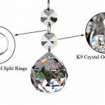 10pcs 20mm Cristal Boule De Verre Lustre Prismes Pendentifs Pièces Perles de la marque Générique image 1 produit