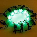 10x Lampe de Spot Encastrable LED Ø60mm RGB pour Terrasse Enterré Plafonnier, 30lm DC12V IP67 Etanche Acier inoxydable avec Télécommande Dimmable, Exterieur luminaire Eclairage Décoration pour Jardin Chemin Couloir Bassin Piscine de la marque 7Colors image 1 produit
