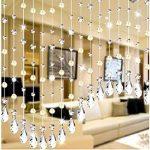 12pendentifs en forme de goutte - En cristal - Pour lustre en cristal -Décoration de bureau, maison, mariage de la marque Feililong image 3 produit