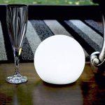 15cm Sphère Boule Lumineuse LED - Lampe Ronde RGB Multicolore Ambiance - Lumière Rechargeable + Télécommande de PK Green de la marque PK Green image 4 produit