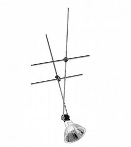 1883Nice Price Seil Spot pour rail électrique 12V 20W Chromé + ampoule 20W de la marque Paulmann image 0 produit
