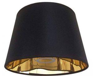 20,3cm Noir Empire Abat-jour Doré Doublure Abat-jour faite à la main lampe de table de la marque ArG Lighting image 0 produit