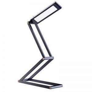 [2018 Nouvelle Version] Lampe Pliable et Rechargeable, SLYPNOS Portable LED Lampe de Lecture, 2 Modes de Luminosité, avec Cble USB pour Charger-【Gris】 de la marque SLYPNOS image 0 produit