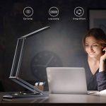 [2018 Nouvelle Version] Lampe Pliable et Rechargeable, SLYPNOS Portable LED Lampe de Lecture, 2 Modes de Luminosité, avec Cble USB pour Charger-【Gris】 de la marque SLYPNOS image 4 produit