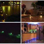 20x RGB Lampe Terrasse LED Encastrable pour Eclairage Extérieur - QACA Lampe de Spot Encastrable LED pour Terrasse Enterré Plafonnier IP67 de la marque QACA image 1 produit