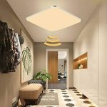 24W LED capteur plafonnier lampe de lumière avec détecteur de mouvement (capteur 24W blanc chaud) de la marque NAIZY image 2 produit