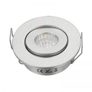 3W Mini LED COB Spot Armoire réglable TROU Taille 40–45mm Argent de la marque JOYINLED image 0 produit