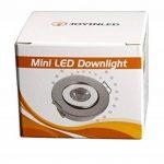 3W Mini LED COB Spot Armoire réglable TROU Taille 40–45mm Argent de la marque JOYINLED image 3 produit