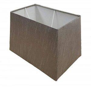 """33cm 38,1cm 43,2cm Abat-jour rectangulaire lampe de table gris, 17"""" Table Lamp Shade de la marque KAYKRAFT image 0 produit"""