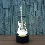3D coloré lumière nocturne LED Touch Switch USB Guitar gradient illuminateur lumière Desktop Light de la marque Light image 4 produit