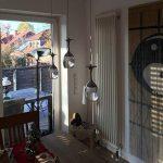 3Wx3 lumière lumière tasse lampe suspension Wineglass LED - Suspension pour le salon Salon Bar Salle Blanc Neige de la marque KJLARS image 3 produit