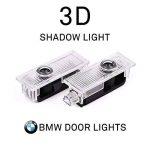 4 pièces porte de voiture LED éclairage d'entrée laser projecteur courtoisie bienvenue lampe ombre Logo lumière de la marque NOTENS image 2 produit