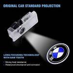 4 pièces porte de voiture LED éclairage d'entrée laser projecteur courtoisie bienvenue lampe ombre Logo lumière de la marque NOTENS image 3 produit