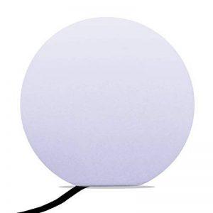 40cm Sphère Lumineuse LED Blanche, Lampe Sol Design Moderne, Lampadaire Salon Chambre (Ampoule E27 Incluse) de PK Green de la marque PK Green image 0 produit