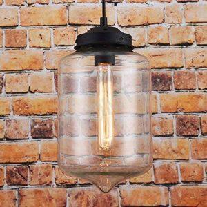 50% de remise–en verre moderne Pendentif lumière plafond lampe goutte d'eau de la marque LOMT image 0 produit