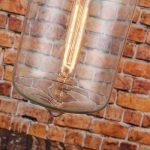 50% de remise–en verre moderne Pendentif lumière plafond lampe goutte d'eau de la marque LOMT image 1 produit