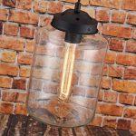 50% de remise–en verre moderne Pendentif lumière plafond lampe goutte d'eau de la marque LOMT image 2 produit