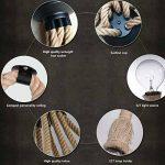 8 têtes rétro Chandelier industriel de corde de chanvre / salon lumières pendantes de restaurant / luminaire non inclus ampoule de la marque BLUE CHARM image 3 produit