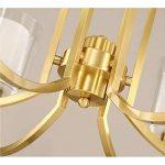 AAXLF Luminaire Chandelier Bronze Lustre Lounge De la lumière au Parlement Le Style Américain Style Nordic Lights Moderne Restaurant Chambres Créatives Lampes et Lanternes, Simple A ++. de la marque AAXLF image 3 produit