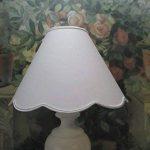 ABAT-JOUR A PINCE - FESTONS DIAM. 20 CM - COULEURS AU CHOIX - POUR PETITE LAMPE de la marque LE REFUGE DE LA BERGERE image 1 produit