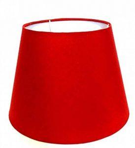 Abat-jour/Bordeaux/rouge/tissu / E27 de la marque Wogati image 0 produit