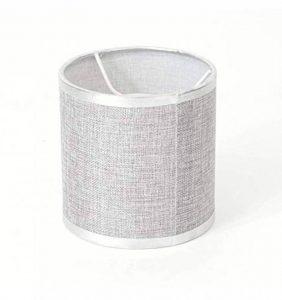 Abat-jour cylindrique gris en tissu - Jenna KOSILUM - IP20 - Classe énergétique : - - - de la marque Kosilum image 0 produit