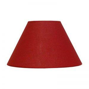 Abat-jour du Moulin - Abat-jour Cône Texture E27 Rouge de la marque Abat-jour du Moulin image 0 produit