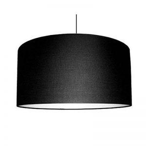 Abat-jour du Moulin - Suspension Cylindre Texture E27 Noir de la marque Abat-jour du Moulin image 0 produit