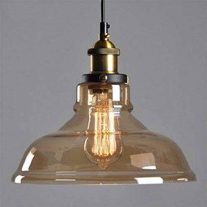 Abat-jour en verre Style Industriel Vintage pour lampe, abat-jour en verre style campagne pour lampe à suspension lustre plafonnier pendentif lumière de la marque SmielyEU image 0 produit