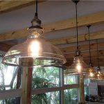 Abat-jour en verre Style Industriel Vintage pour lampe, abat-jour en verre style campagne pour lampe à suspension lustre plafonnier pendentif lumière de la marque SmielyEU image 3 produit