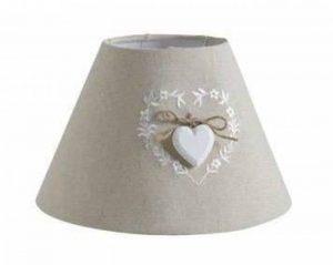 Abat-jour pour lampe de chevet avec coeur de la marque AUBRY GASPARD image 0 produit