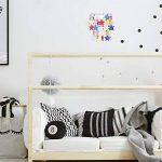 Abat Jour pour Suspension. Étoiles multicolores en cascade. Parfait pour une chambre d'enfant ou la crèche d'un bébé de la marque MiniSun image 2 produit