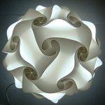 abat-jour - SODIAL(R) IQ Puzzle pour DIY Decoration Abat-jour - 40cm blanc de la marque SODIAL(R) image 1 produit