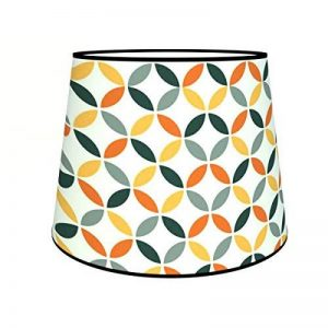Abat-jours 7111306762981 Conique Léo Suspension, Tissus/PVC, Multicolore de la marque Abat-jours image 0 produit
