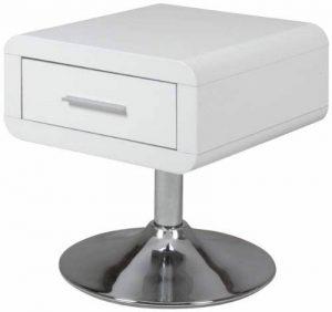 AC Design Furniture 0000047909 Josefine Chevet MDF Blanc 40 x 40 x 45 cm de la marque AC Design Furniture image 0 produit