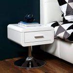 AC Design Furniture 0000047909 Josefine Chevet MDF Blanc 40 x 40 x 45 cm de la marque AC Design Furniture image 4 produit