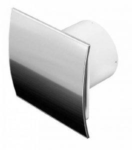 Acier inoxydable salle de bains ventilateur Ø 100mm Minuteur/nachlauf egelung Ventilateur avec clapet Ventilateur plafond ventilateur avant Ventilateur mural Cuisine Bain Ventilateur Ventilateur encastrable Ventilateur silencieux nachlauf 10cm de la mar image 0 produit
