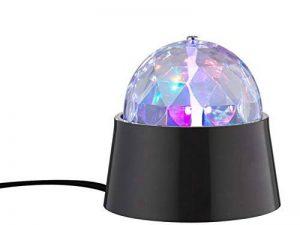 Action by Wofi 879101106000A, Disco Lampe de table, plastique, 3W, intégré, noir, 9x 9x 9cm de la marque Wofi image 0 produit