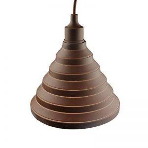 Alamp Lampe Suspension Luminaire Suspendue avec Abat-jour en Silicone (Vert) de la marque Alamp image 0 produit
