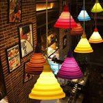 Alamp Lampe Suspension Luminaire Suspendue avec Abat-jour en Silicone (Vert) de la marque Alamp image 2 produit