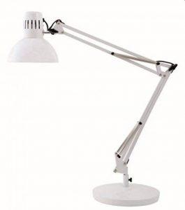 Alba ARCHI BC Lampe architecte fluorescente avec pince et socle Blanc de la marque Alba image 0 produit