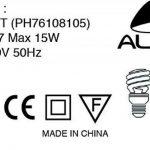 Alba FLUOFIT P Lampe de Bureau Violet de la marque Alba image 1 produit