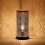 albena shop 73-633 Aleika forme de lampe de table orientale H 30,5 cm / ø 15 cm métal noir de la marque albena shop image 1 produit