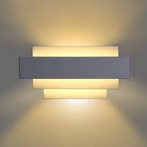 Albrillo Applique Murale LED Intérieur - Lèche Mur Moderne Design Éclairage Décoratif avec 4 Couches pour Chambre Escalier Salon Bureau Hôtel Restaurant Bar Couloir de la marque Albrillo-FR image 0 produit