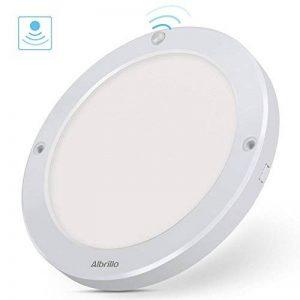 Albrillo Plafonnier LED - 18W avec Détecteur de Mouvement avec Détection infrarouge, Angle de faisceau 120°, 1300LM 4000K Blanc naturel, Lampe de plafond pour Couloir, entrée de la marque Albrillo image 0 produit