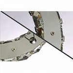 ALFRED® Cristal de luxe moderne a conduit pendentif avec deux anneau uniques, plafond moderne Luminaire,chambre, Salon de la marque Alfred image 2 produit