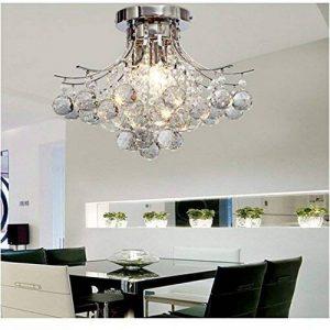 ALFRED Lustre en cristal 3 lumières (chrome Terminer),plafond Luminaire, l'étude chambre / bureau, salle à manger, chambre à coucher, Salon de la marque Alfred image 0 produit