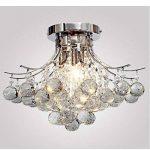 ALFRED Lustre en cristal 3 lumières (chrome Terminer),plafond Luminaire, l'étude chambre / bureau, salle à manger, chambre à coucher, Salon de la marque Alfred image 4 produit