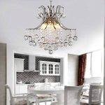 ALFRED Moderne lustre en cristal avec 6 Lumières, moderne plafonnier, chambre, salon de la marque Alfred image 1 produit